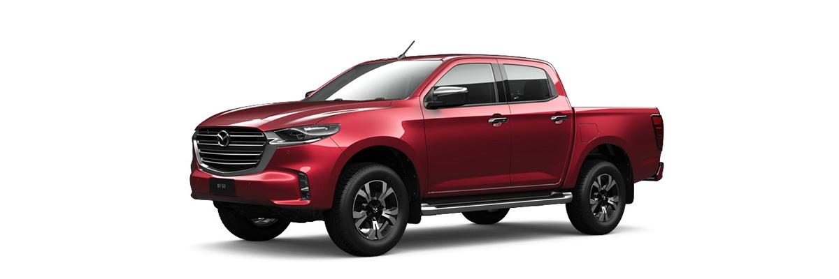 2020 Red Mazda BT-50