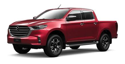 2020 Red Mazda BT-50 Limited